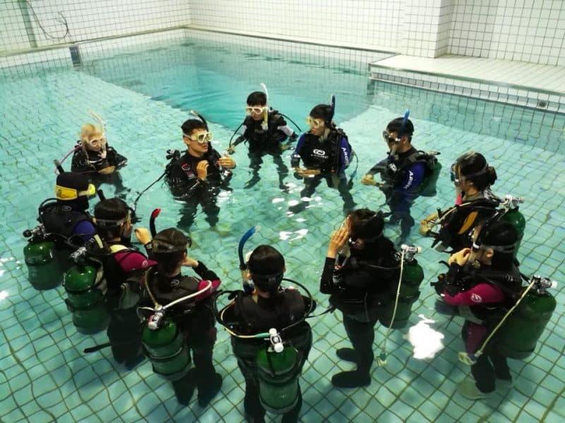 台北潛水課程 太平洋潛水中心 2