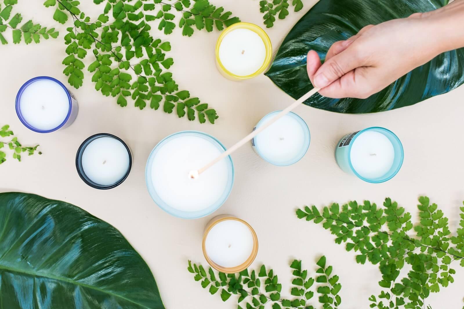 【台北蠟燭DIY課程】私藏精油乾燥花香氣,精選台北香氛蠟燭DIY體驗