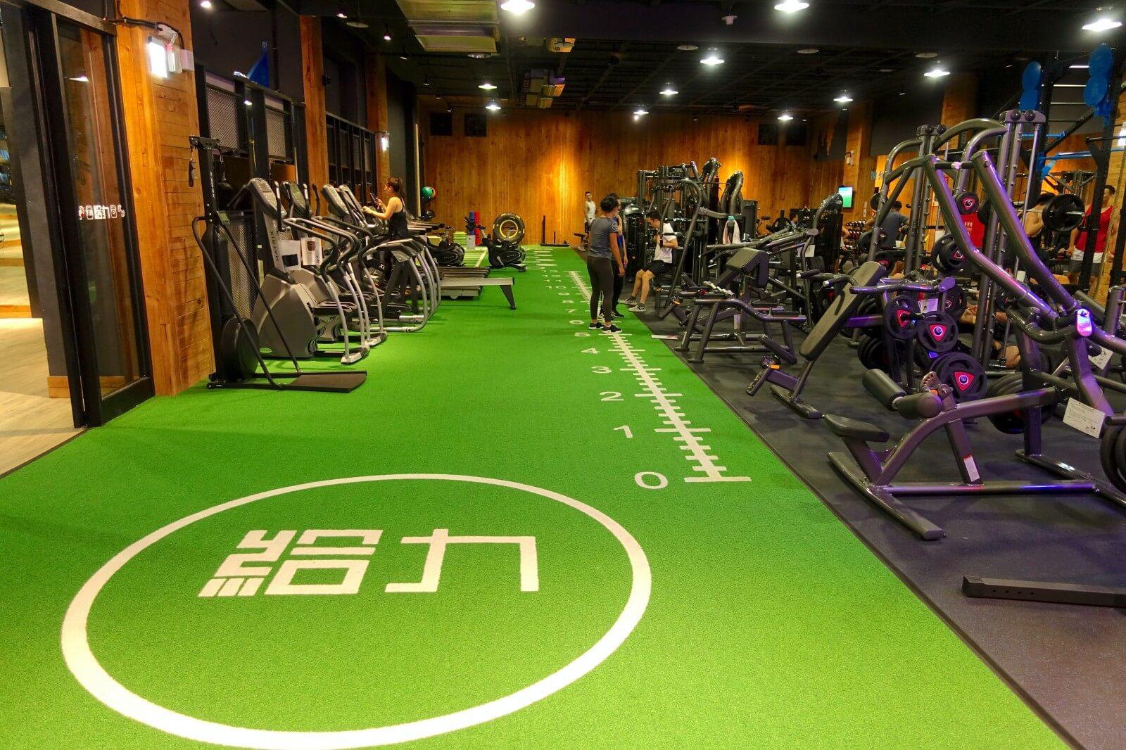 【給力健身房評價】質感24hr台北單次健身房,頂級器材無負擔使用