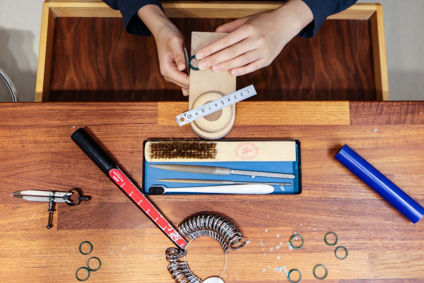 【黑角設計評價】超仔細一對一板橋戒指教學,新手也能做出專櫃級戒指