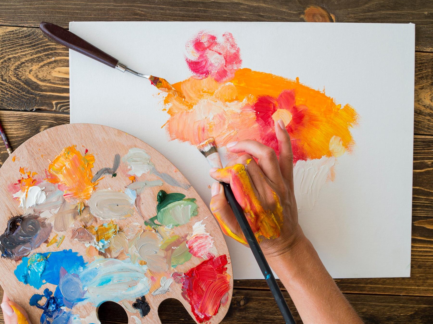 【台中畫畫教室推薦】揮灑創意的油畫、流動畫體驗,6間台中畫室畫畫課程評比